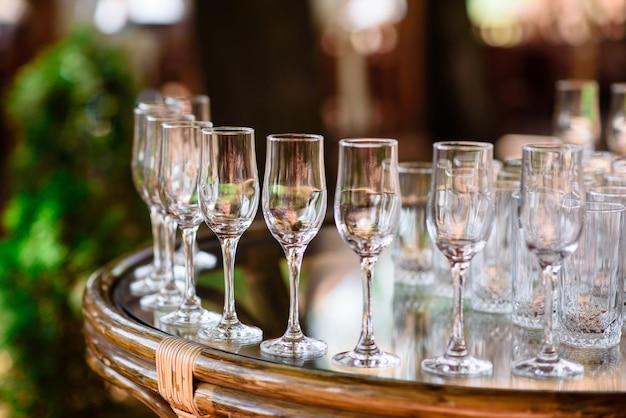 Glasses, cocktails