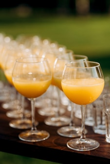 Бокалы для вина и шампанского из хрусталя