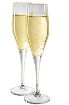 샴페인 잔, 새해 축하 컨셉