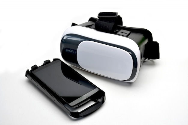 Glasses of reality virtual for smartphone