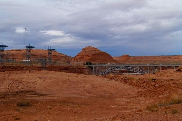 グレン植物米国アリゾナ極電源峡谷