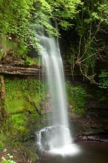 Glencar falls  scenery