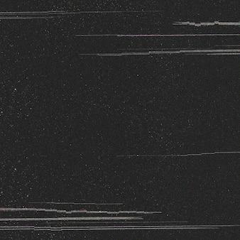 Glitch effect on a black background