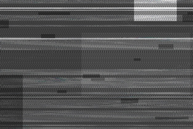 Glitch effect texture on black