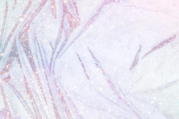 Struttura della superficie di plastica lucida rosa glitter