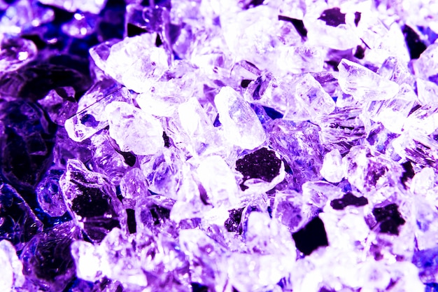 Glitter texture background with crystals