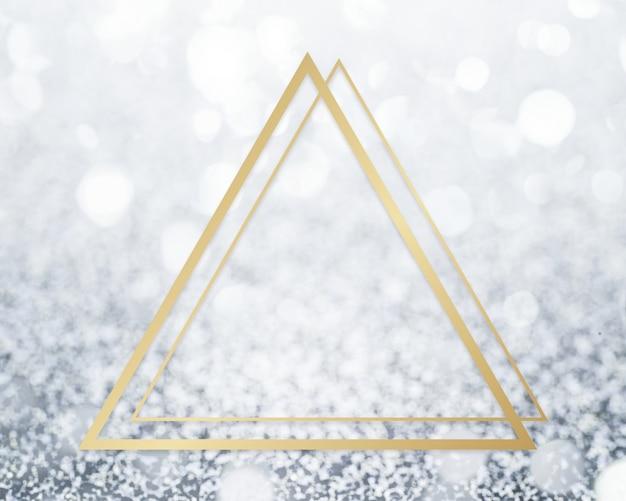 Glitter textured backdrop frame