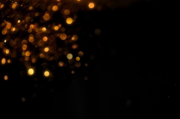 Блеск старинные фонари фон. золотой и черный. де сосредоточен