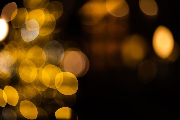 Блеск старинные огни фон. серебро и светлое золото. расфокусирован.
