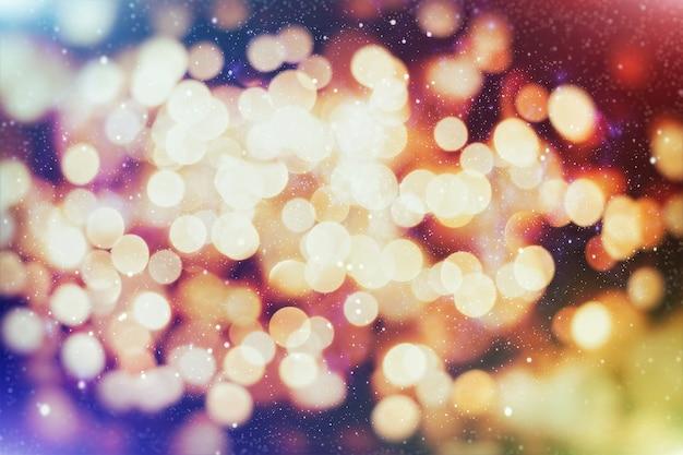빛나는 크리스마스 배경. 노란색 크리스마스 배경 반짝이 크리스마스 배경.