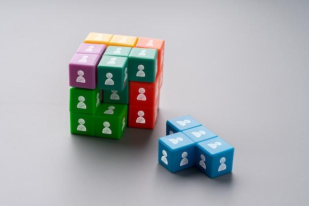 グローバルなビジネスと協力とパートナーシップ