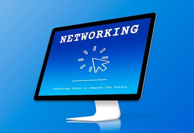 Esplorazione digitale globale networking tecnologico