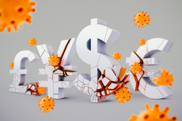 コロナウイルスによる世界的な経済危機