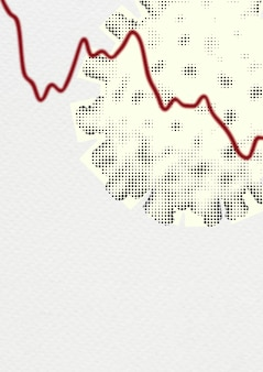 Global economic impact due to coronavirus pandemic background