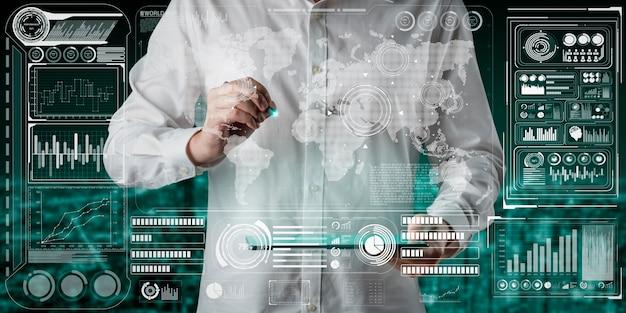 Глобальный финансовый анализ и концепция исследования больших данных
