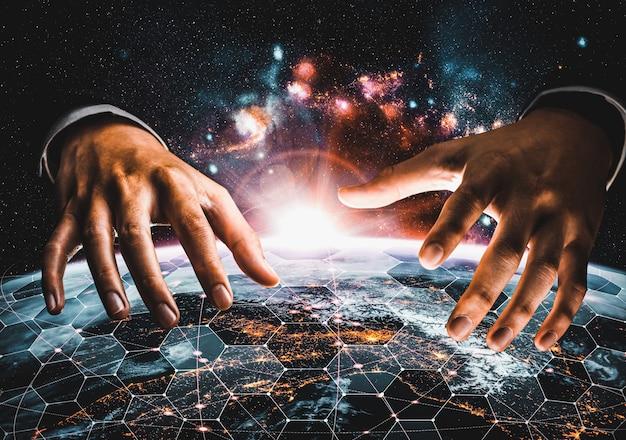 혁신적인 인식의 링크로 지구를 아우르는 글로벌 네트워크 연결