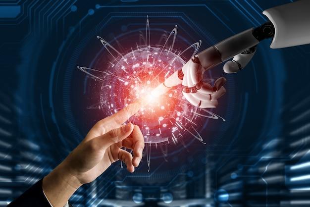 人間の生命の未来のための世界的なロボット生体工学研究。