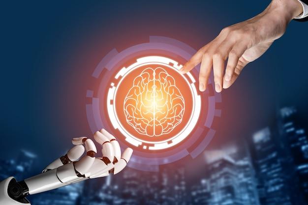 인류의 미래를위한 글로벌 로봇 생체 공학 연구.