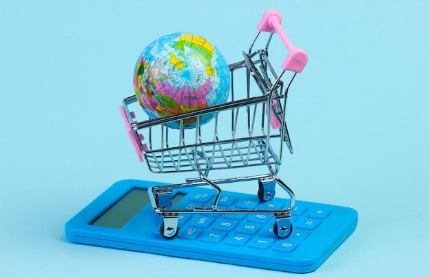 Глобальный супермаркет, время покупок