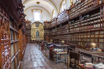 Globe library puebla Mexico books