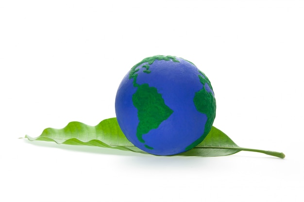 緑の葉のグローブ