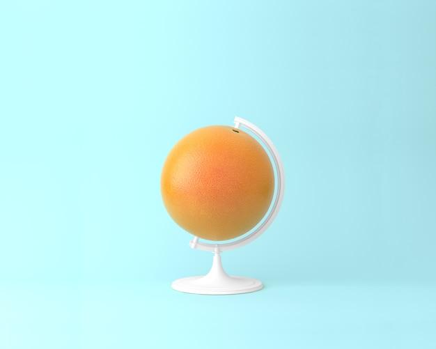 Globe sphere orb orange concepts