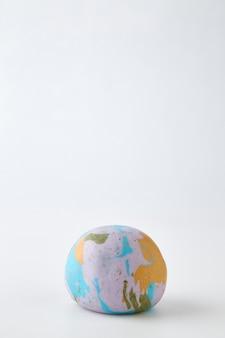 Globe on the white background