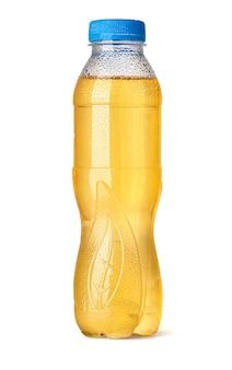 Глянцевая прозрачная пэт-бутылка с каплей для яблочного и апельсинового сока