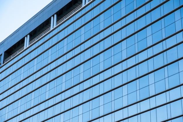 Glossy window modern of building