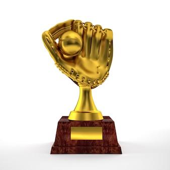 Glove trophy