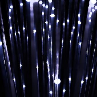 빛나는 빛 줄무늬 배경 3d 일러스트