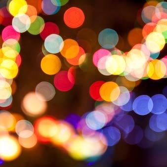 Glowing traffic defocused texture celebration