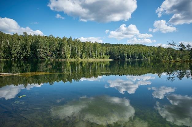 Озера глубелка, мядельский район. беларусь