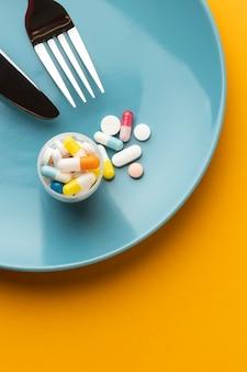 Gmo 화학 변형 식품 및 알약
