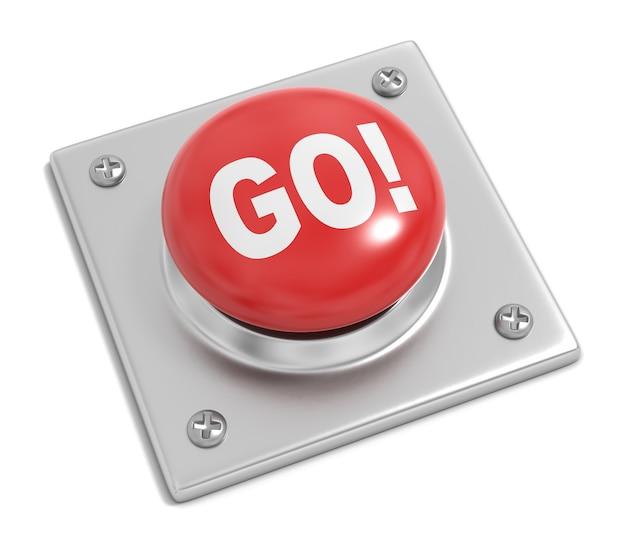 Кнопка перехода на белом