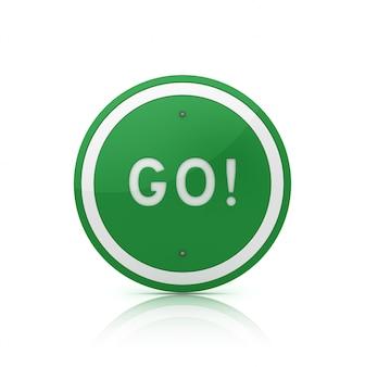 Go!の道路標識語