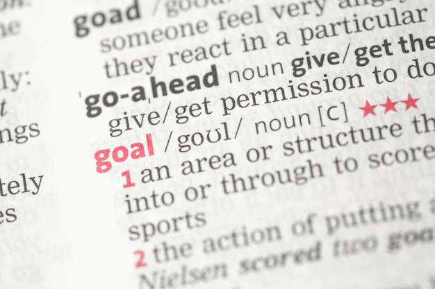 Goal Definition Vectors, Photos and PSD files | Free Download