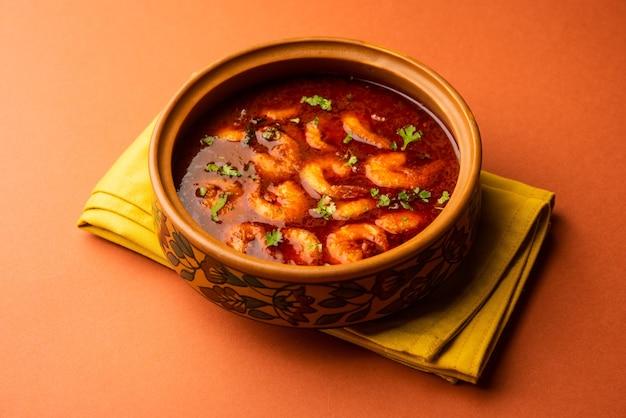 Гоанские креветки или креветки карри или зинга масала, также известная как калваншабит или тихле