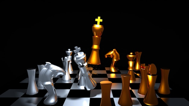 Шахматная битва за золото и серебро