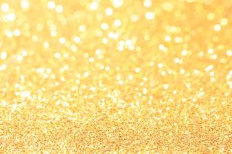 Золото и белый боке огни расфокусированным. абстрактный фон