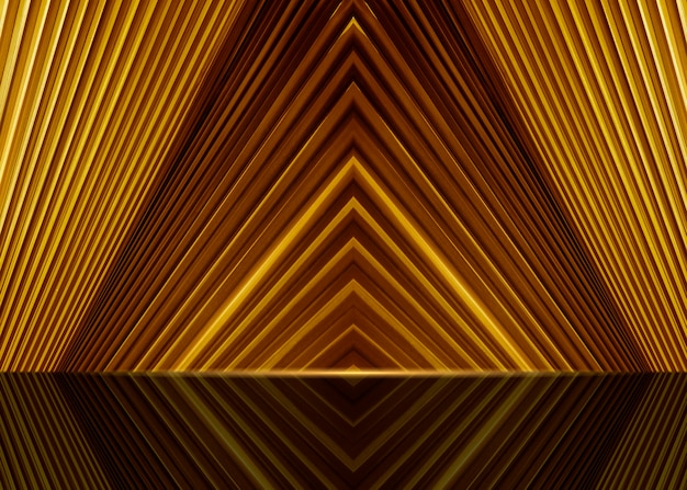 Gold background for luxury product