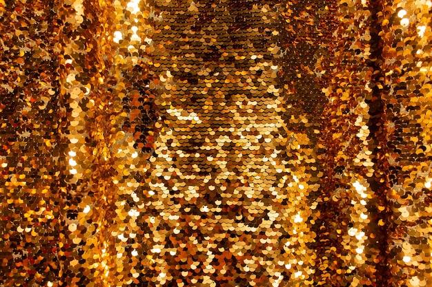 Золотой фон из блесток