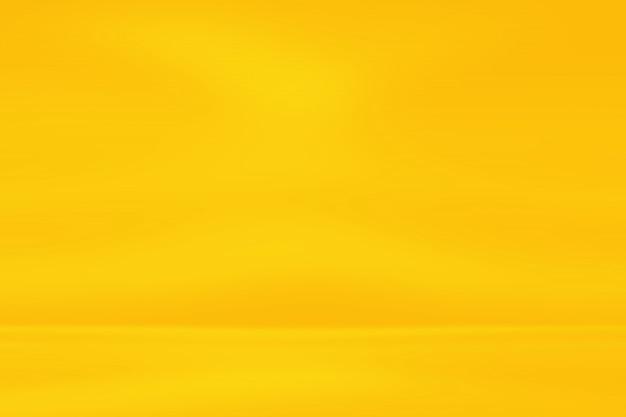 ゴールドの背景、黄色のグラデーション実像背景。