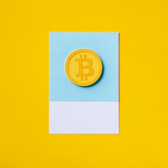 Gold bitcoin economic currency symbol