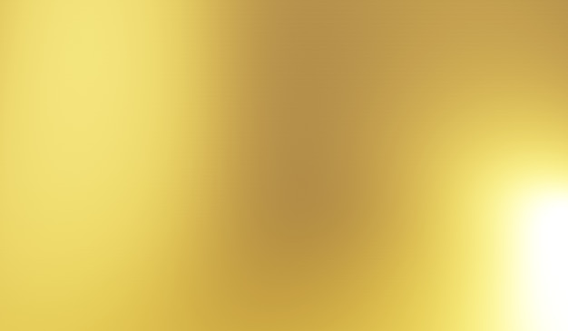 金のぼやけた抽象的なテクスチャ背景。 3dレンダリング