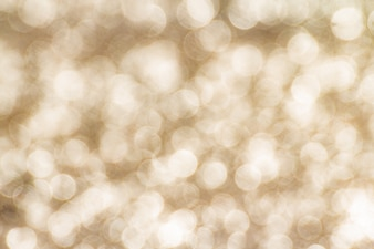 Gold bokeh abstract background