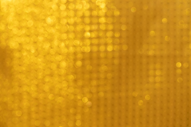Gold bokeh background gold abstract lights