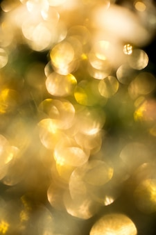 Gold bokeh in christmas celebrities