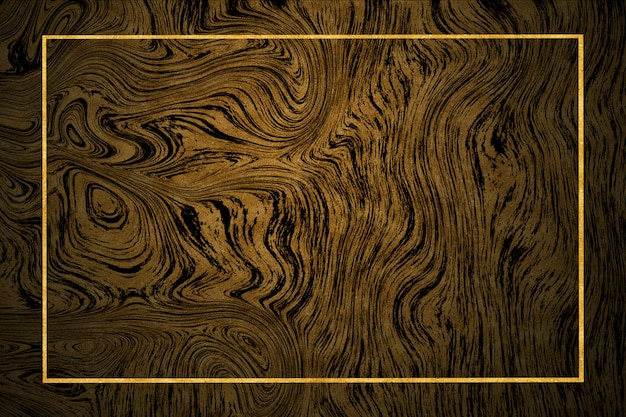 Gold border dark gold marble pattern and luxury interior wall tile and floor