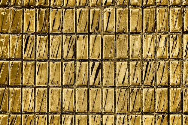 Gold brick pattern